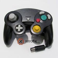 NGC / Nintendo Gamecube Controller - Black - Professional Aftermarket