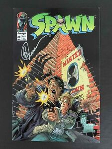 SPAWN #35 IMAGE COMICS 1995 VF+ SIGNED BY GREG CAPULLO