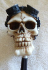 GEAR HEAD  SKULL SHIFT KNOB CUSTOM HOTROD-RATROD-STEAM PUNK-ROCKABILLY-GOTH