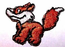 Lot of 4 - Baby Fox Embroidery Applique Patch iron on - Kids