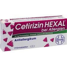 CERTIRIZIN HEXAL comprimé enrobé 7 pièces PZN1830146
