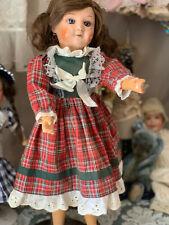 ANTIQUE FRENCH doll SFBJ composition head 40 cm
