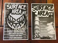 Surface Area #1 & #2 Zine Evoker Graffiti Street Art