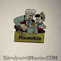 Disney Pinocchio Family with Cleo figaro Pin (NY:31275)