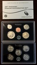"""2017 225th ANNIVERSARY ENHANCED UNCIRCULATED COIN SET """"SAN FRANCISCO"""" SOLD OUT"""