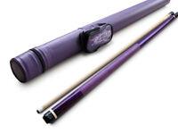 Champion ST10 Purple Pool Cue Stick, Purple Fury or Champion case, Cuetec Glove