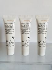 3 New .25oz 7.3g M.A.D. Mad Hyper Sheer Spf 50 Matte Finish Daily Moisturizer