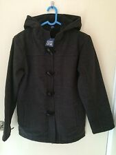 Brand New Girls Duffle Coat Size 13 Years GREY