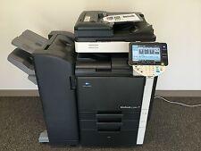 Konica Minolta Bizhub C360 Copier Printer Scanner Network LOW 114k total pages