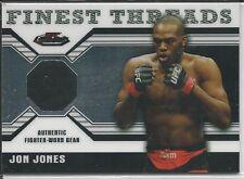 Jon Jones 2011 Topps Finest UFC Finest Threads Fighter Relics Card # RJJ