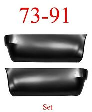 73 91 Chevy Suburban Rear Lower Quarter Panel Set, GMC, Both Left & Right Sides
