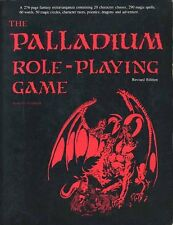 THE PALLADIUM ROLE-PLAYING GAME 1988 Siembieda GM Dungeon Masters Guide D&D