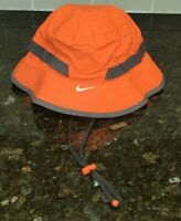 Nike Team Dry Bucket Hat football Adult Small Futura Orange Combat Coaches Hat