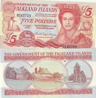 Falkland Islands 5 Pounds UNC 2005