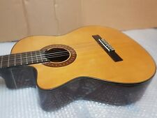 LEFT HAND MARTINEZ CLASSICAL ACOUSTIC CUTAWAY