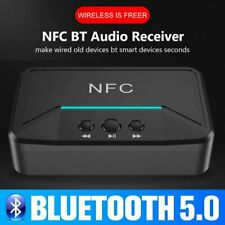 NFC Wireless Bluetooth 5.0 Empfänger Stereo HIFI Auto Audio Musik Adapter +Kabel