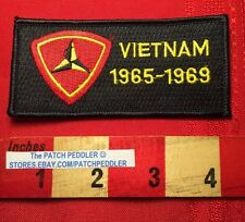 Vietnam War Commemorative Insignia Patch 3rd MARINE DIVISION 1965-1969 5DQ4