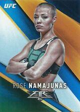 2017 TOPPS UFC FIRE BLUE FLAME #50 ROSE NAMAJUNAS 3/25 FREE SHIPPING 🔥