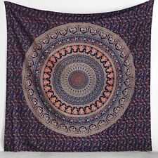 Hippie Mandala Wall Hanging Indian Cotton Tapestry Bedding Bed Cover Beach Throw