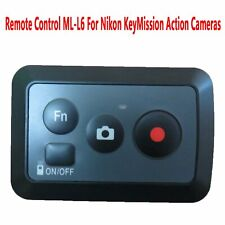 Remote Control ML-L6 Replacement For Nikon KeyMission 360 & 170 Action Cameras