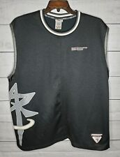 Reebok Above The Rim Embroidered Black Mens Jersey Xl