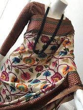 Indian Printed Saree /floral Print, Comes with Readymade Blouse
