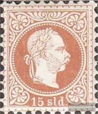 Österr.-Post Levante 5I gestempelt 1875 Kaiser Franz Joseph
