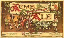 1930s IRTP CALIFORNIA San Francisco ACME ENGLISHTOWN ALE 11oz Label Tavern Trove