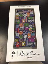 "NIB Robert Graham ""McClure"" Apple Iphone 5 Case - scissors, hair, combs"