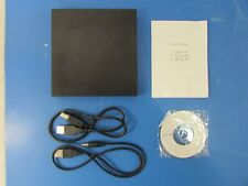 USB 2.0 Slim External DVD ROM CD-RW Combo Drive Writer w/CD-R & 2 USB cables