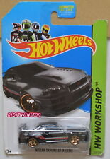 Hot Wheels 2014 Hw Workshop Nissan Skyline Gt-R (R34) Negro