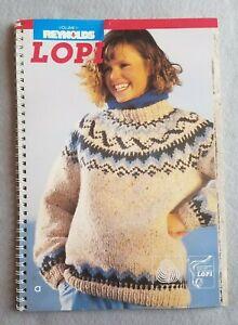 Reynolds Lopi Volume 11 Pattern Booklet, Vintage, 1985, Icelandic Sweaters
