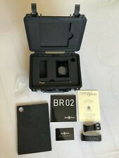 Bell & Ross BR 02 PHANTOM Diver FULL-Set * TOP * br02 CARBON automatico RAR!!!