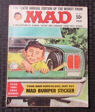 1967 MAD Magazine Annual #10 VG- Humor Parody