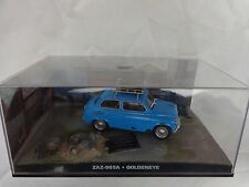 JAMES BOND 007 CAR COLLECTION ZAZ-965A - GOLDENEYE ISSUE 36 & MAG