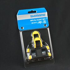 Shimano Cleats SPD SL Road Shoes Set Bike Pedal Yellow 6 Degree Float Cycling