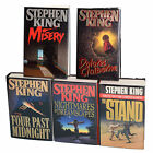 STEPHEN KING LOT OF 5 SIGNED BOOKS NIGHTMARES FOUR PAST STAND CLAIBORNE MISERY