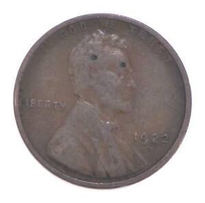 Semi Key 1922-D VF/XF Lincoln Wheat Cent - Sharp *554