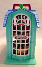 Fisher Price Loving Family Sweet Street Beanstalk Toy Shop & Burger Cafe 2002