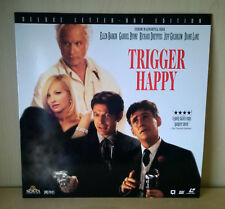 TRIGGER HAPPY (Mad Dog Time) Laserdisc - NTSC - Deluxe Letter Box Edition