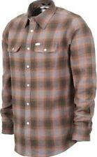 MATIX Parker Flannel Shirt (M) Grey