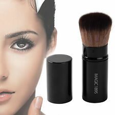 Retractable Kabuki Makeup Brush Foundation Powder Bronzer Blusher Cosmetic Tool