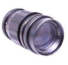 SOLIGOR TELEPHOTO 135mm f/3.5 M42 Mount Camera Lens  - H42