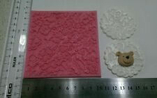 Lace embosser silicone Molds