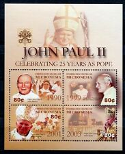 Mikronesien Micronesia 2004 Papst Johannes Paul II. Pope John Paul 1512-1515 MNH