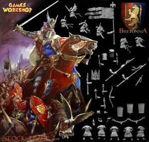 GAMES WORKSHOP Bretonnia WFB > Warhammer BRETONNIAN Figures & Bitz