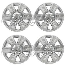 "18"" Chrome Wheel Skins Hubcaps FOR 2017 2018 Nissan Titan 2016-2018 Titan XD"