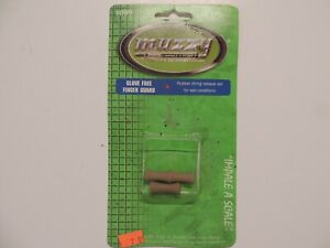 MUZZY Glove Free Finger Guard Rubber String Release Aid 1089 NEW