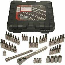 Craftsman Tools 42pc 14 38 Drive Hex Torx Screwdriver Bit Socket Wrench Set Ln