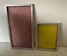 Mixed - Screen Printing Frames with a few small rips....  Aluminium